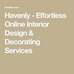 Havenly - Effortless Online Interior Design & Decorating Services