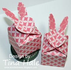 Bunny Boxes by tinahale38 - Cards and Paper Crafts at Splitcoaststampers