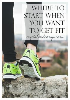 Over 10 resources that will help moms find a place to start when they want to get fit!