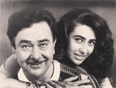 Randhir Kapoor and Karisma Kapoor