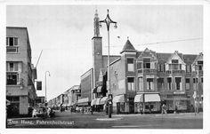 Den Haag, Fahrenheitstraat, postally used in 1953 to Ontario, Canada. The Hague, Worlds Largest, Ontario, Paris Skyline, Holland, Dutch, Street View, Van, Canada
