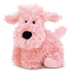 "Jellycat - 9"" Small Truffle Dog - Pink"