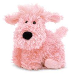 "Jellycat - 9"" Small Truffle Dog - Pink"