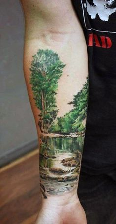 awesome Tattoo Trends - Best Nature sleeve tattoo design idea 2016. Description from pinterest.com. I se...