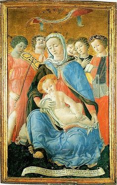 The Madonna of humility by Domenico di Bartolo, 1433, is considered one of the most innovative devotional images from the early Renaissance.