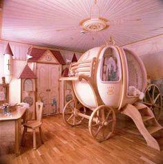 Coole Kleinkinderzimmer-Ideen für Mädchen - Bett für Prinzessinnen