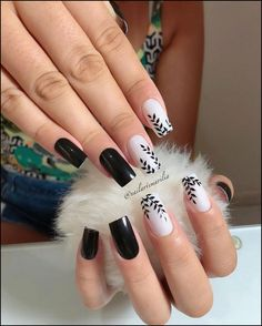 130 cute spring nail art designs to spruce up your next mani page 12 130 cute spring nail art designs to spruce up your next mani page 12 Stylish Nails, Classy Nails, Trendy Nails, Cute Acrylic Nails, Acrylic Nail Designs, Nail Art Designs, Cute Spring Nails, Spring Nail Art, Pink Nails