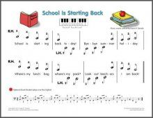 School is Starting Back Song- Boomwhackers?
