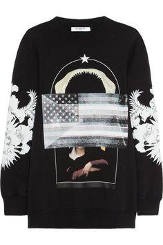Givenchy multi-print sweatshirt