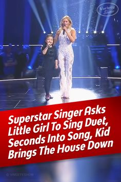 Superstar & Child Prodigy Sing Duet That Brings The House Down