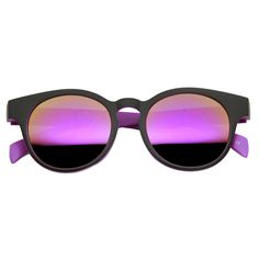 Summer Fun Pool Party Round Key Hole Sunglasses - zeroUV