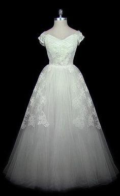 Wedding Dress Christian Dior, 1950s