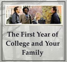 The First Year of College and Your Family - A new Podcast