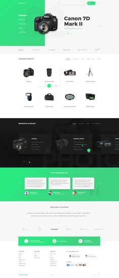 Greentoe productpage dribbble