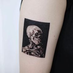 vincent skeleton - You are in the right place about vincent skeleton Tattoo Design And Style Galleries On The Net – - Time Tattoos, Body Art Tattoos, Small Tattoos, Sleeve Tattoos, Pretty Tattoos, Beautiful Tattoos, Matisse Tattoo, Van Gogh Tattoo, Americana Tattoo