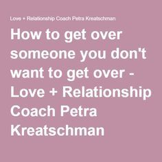 how to get over worrying in a relationship