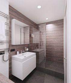 Квартира в ЖК «Венеция» - Архитектурное бюро «2А»#wood bathroom#modern bathroom#bathroom interior