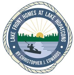 #RealEstate #Logo #Design #Branding Lake Hopatcong, Real Estate Logo Design, Us Real Estate, Branding, Brand Management, Identity Branding