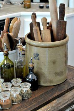 our vintage home love: Farmhouse Table