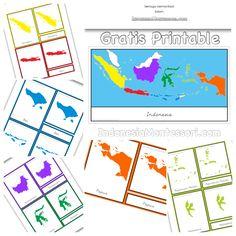 Materi Belajar di Rumah : Yuk Mengenal Lebih Jauh Tentang Peta Indonesia!