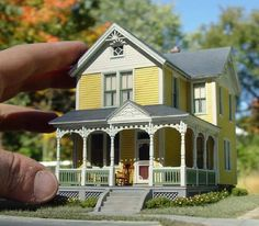 Wow - this is awesome! This is a miniature house.