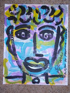 A face in the Crowd 2015 by Royston du Maurier-Lebek