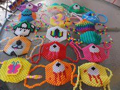 Just some kandi masks :)
