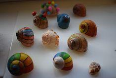 Süti és más...: Csigaház dekoráció DIY Montessori, Food, Essen, Meals, Yemek, Eten