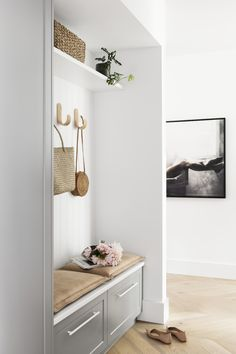 Statement lighting steals the show in this Californian bungalow renovation Bungalow Interiors, Bungalow Renovation, Modern Bungalow, Modern Interior, Interior Design, Interior Stylist, Formal Living Rooms, Mudroom, Architecture