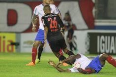 No detalhe, Fla empata com o Bahia em Macaé