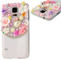 Galaxy S5 - Luxurious Sparkling Jewel Gem Cases in Assorted Colors - Thumbnail 2