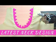 Hi, welcome to noor fashion world. Today i'm going to show you new neck design for kurti and blouse. This is back neck design but you can make this for front. Neck Designs For Suits, Back Neck Designs, Stitching, Tote Bag, Youtube, Pattern, Bags, Fashion, Costura