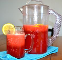 copycat Cheesecake Factory Raspberry Lemonade - refreshing, & only took about 5 mins to make!!!
