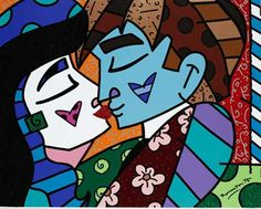 Oh Honey Romero Britto Madonna, Graffiti, Wall Mounted Tv, Arte Pop, Canvas Ideas, Stone Art, Spice Things Up, Brazil, Faces