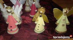 Aniołki ręcznie robione z tapety duże śląskie Radlin