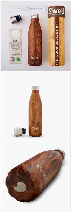 S'well Bottle Teakwood 17oz medium Water Bottle wood collection https://www.at-lotus.com/products/teakwood-modern-design-water-bottle-thermo-wood-collection