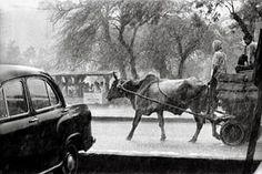 Raghu Rai: Monsoon Downpour in Delhi by Raghu Rai, 1984