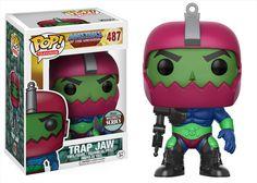Specialty Series: Trap Jaw Pop!, Tourist Dave Dorbz!   Funko