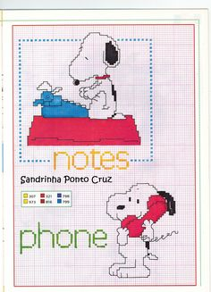 Sandrinha Ponto Cruz. lots of very cute charts.