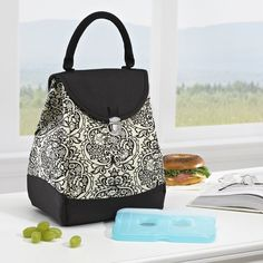 Insulated Lunch Bag Cooler Tote Sack Box Purse Icepack Storage Picnic Soft Women