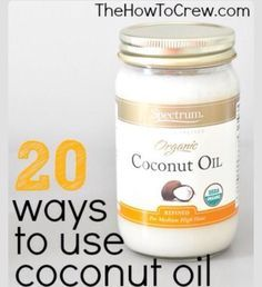20 Creative Ways to Use Coconut Oil! Great tips and tricks! 20 Creative Ways to Use Coconut Oil! Great tips and tricks! Get Healthy, Healthy Tips, Healthy Eating, Healthy Recipes, Health And Beauty Tips, Health And Wellness, Home Remedies, Natural Remedies, Salud Natural