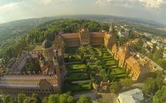 The Chernivtsi National University (Ukraine) founded in 1875 is on the UNESCO World Heritage sites list.