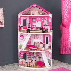 Think Pink Corner Dollhouse.