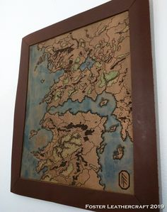 December 11, 8th Of March, Scale Map, Unique Gifts, Best Gifts, Third Anniversary, Custom Map, Leather Craft, The Fosters