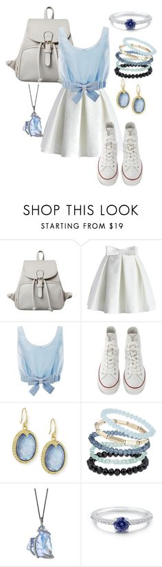 """""""Untitled #28"""" by fangirlr18 ❤ liked on Polyvore featuring Chicwish, Honor, Converse, Armenta, Topshop and BERRICLE"""