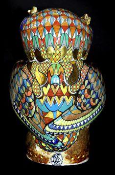 Owl 8 - David Burnham Smith - Master Ceramic Artist
