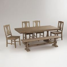 Provence Dining Collection- I NEED this table, but it's all sold out! Someone please find this table for me! I can't live without it!