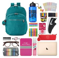 """""""Back to School"""" by ursala ❤ liked on Polyvore featuring Kipling, Batiste, Topshop, Cutler and Gross, Victoria's Secret PINK, Sephora Collection, Michael Kors, Moleskine, Sharpie and Paper Mate"""
