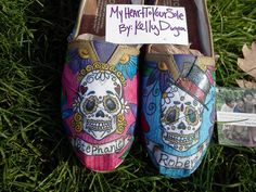 Price includes shoes. Sugar  Skull  male/ female TOMS by MyHeartToYourSole on Etsy https://www.etsy.com/listing/119197789/price-includes-shoes-sugar-skull-male