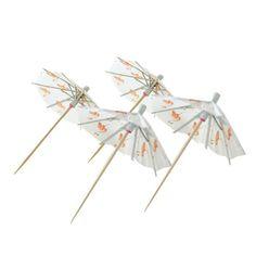 Flamingo Umbrella Picks